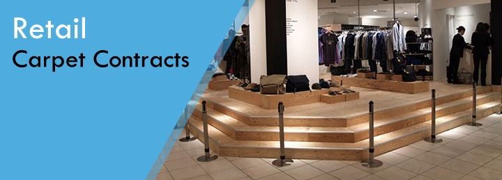 Retail flooring contracts at Surefit Carpets