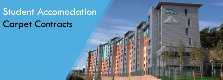 Student accomodation contracts at Surefit carpets